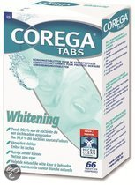 Corega Tabs Whitening 66 Stuks