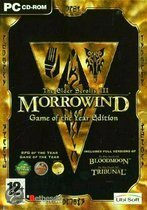 The Elder Scrolls 3, Morrowind, Game Of The Year (Morrowind + Bloodmoon En Tribunal Add-Ons ) (Dvd-Rom)