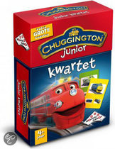 Kwartet Chuggington Junior - Kaartspel