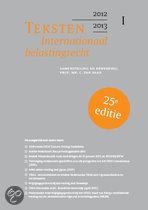 Teksten internationaal belastingrecht  / 2012/2013