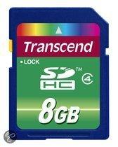 Transcend Basic SD kaart 8 GB