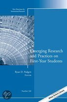 Emerging Research and Practices on First-Year Students