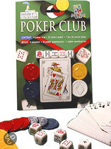 Pokerclub (blister) - Kaartspel
