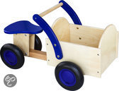 Bakfiets blauw/blank New Classic Toys 37x63x28 cm (1403)