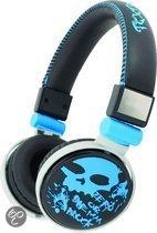 Foto van Qware Funky Skull Headphone Blauw