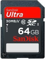 Sandisk Ultra SD kaart 64 GB