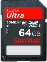Sandisk Ultra SD kaart 64 GB