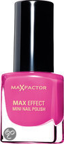 Max Factor Max Effect - 33 Lollipop - Roze - Mini Nagellak
