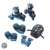 Imaginarium Rolling Set Evolution blue - Skates voor kinderen