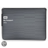 Western Digital My Passport Ultra Externe Harde Schijf - 500 GB / Grijs