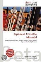 Japanese Corvette Musashi