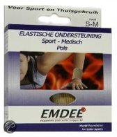 Emdee Elast Steun Pols - Small/Medium - Brace