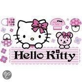 Hello Kitty Muur Sticker Groot