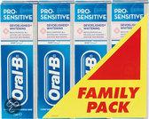 Oral-B Pro Sens Whitening Mint - 4 stuks - Tandpasta