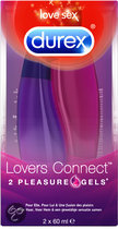 Durex Lovers Connect Pleziergel - 2 x 60 ml - Glijmiddel