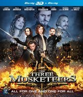 The Three Musketeers (2011) (3D+2D Blu-ray)