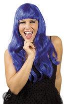 Pruik Chique - Blauw