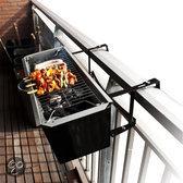 Gizzys Balkon Houtskoolbarbecue