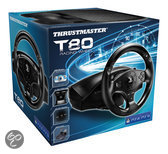 Thrustmaster T80 RS Racestuur - Official Playstation Edition - Zwart (PS4 + PS3)