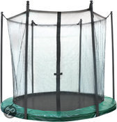Jumpline Veiligheidsnet Trampoline - 305 cm - Groen