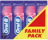 Oral B 3DWhite Brilliance - 4x 75 ml - Tandpasta