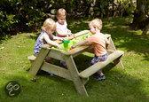Picknic / zandbakje voor 4 kinderen