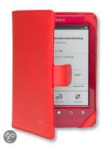 Gecko Covers Beschermhoes voor Sony Reader Wi-Fi (PRS-T1/T2/T2N) - Rood