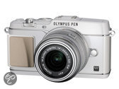 Olympus E-P5 + 14-42mm - systeemcamera - Wit