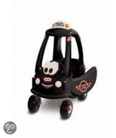 Little Tikes Cozy Coupe Taxi - Loopauto - Zwart