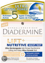 Diadermine Lift+ Nutritive - 50 ml - Nachtcrème