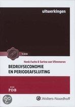Bedrijfseconomie en periodeafsluiting / Uitwerkingen