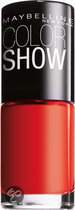 Maybelline Color Show - 15 Candy Apple - Rood - Nagellak