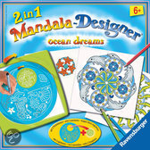 2in1 Mandala-Designer Ocean Dreams