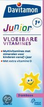 Davitamon Junior 1+ Vloeibare vitamines - Framboos - 100 ml
