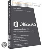 Microsoft Office 365 University 32-bit/x64 English Subscription Academic 1 License Eurozone Medialess 4 Year
