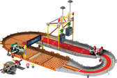 K'Nex Mario & Luigu Start en Finish Racebaan