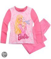 Barbie Meisjespyjama - Roze - Maat 104