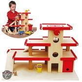 Dudu Toys grote Garage met lift 3 verdiepingen.