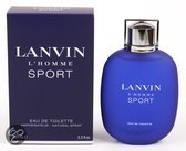Lanvin l'Homme Sport for Men - 100 ml - Eau de toilette