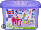 Mega Bloks Create 'n Play Fun Building Emmer Meisjes
