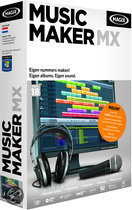 Magix Music Maker MX - Nederlands