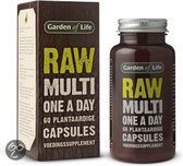 Garden Raw Multi One - 60 Capsules