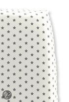 Cottonbaby Sterretjes - Hoeslaken Wieg 40x80 cm - Wit