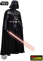 Star Wars muurstickers: Darth Vader muursticker Lifesize scale 1:1