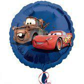 Folie ballon Cars blauw