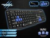 Dragon War Desert Eagle Qwerty Gaming Toetsenbord - Zwart (PC)
