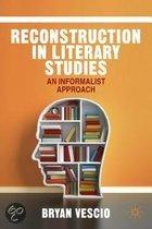 Reconstruction in Literary Studies