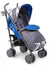CHILDWHEELS - Buggy Race Union Jack - Grijs/Blauw