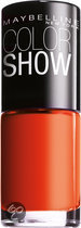 Maybelline Color Show - 341 Orange Attack - Oranje - Nagellak