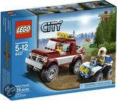 LEGO City Politieachtervolging - 4437
